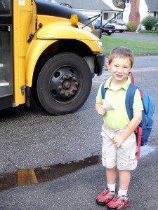 First day of 1st grade Lucas