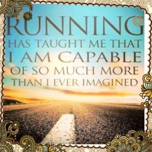 Running has taught me