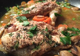 Healthy Recipe : Chicken Lombardy