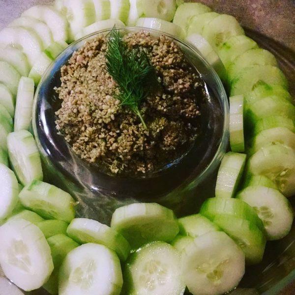 Crunchy Raw Sunflower Seed Spread by Coach Maria